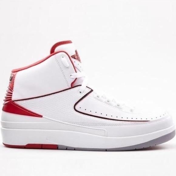 7be637fa0b8 Jordan Other - [ jordan ] 2 retro 385475 102 white/black/red (